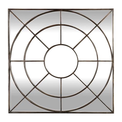 Oberon Mirror - Rustic Bronze