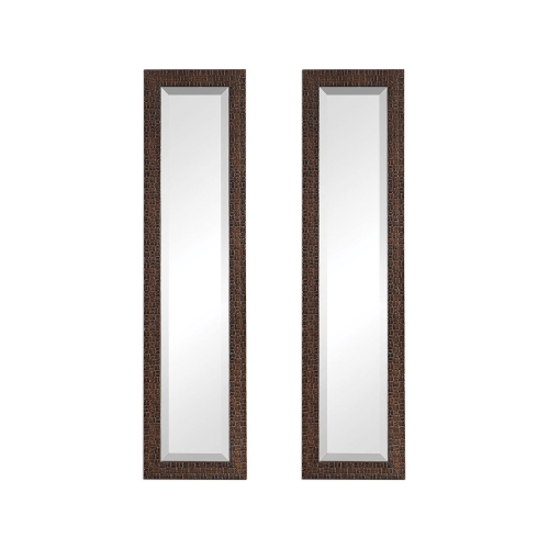 Ailani Mirror - Set of 2 - Burnished Brown
