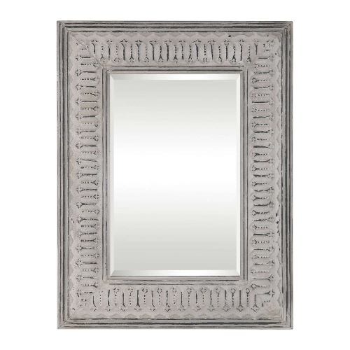Argenton Rectangle Mirror - Aged Gray