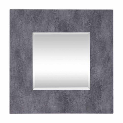 Rohan Square Mirror - Gray