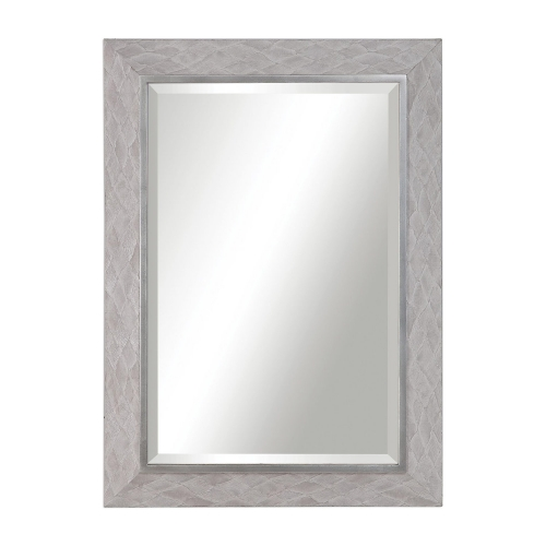 Johnston Argyle Mirror - Gray