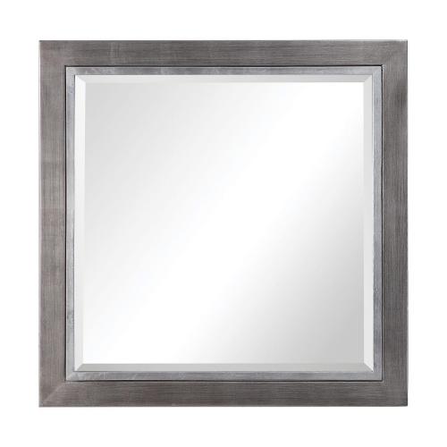 Moore Square Mirror - Silver