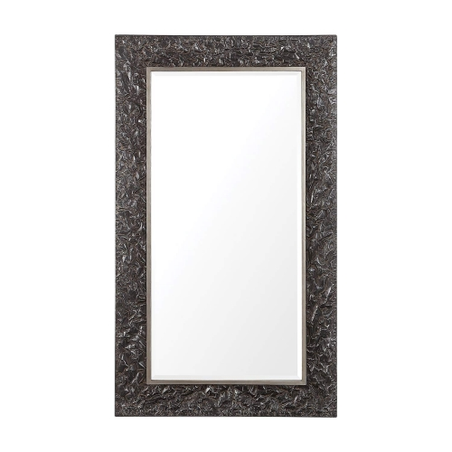 Axel Large Mirror - Textured Steel