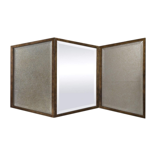 Viva Geometric Mirror - Gold