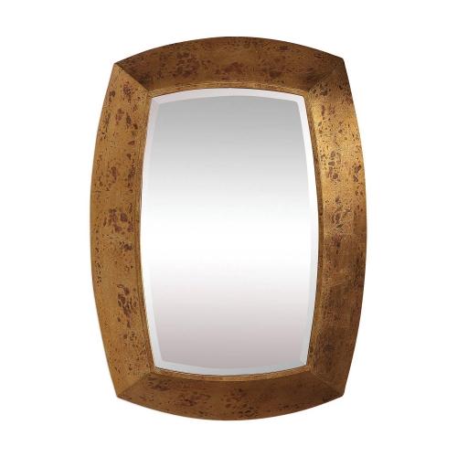 Syrah Mirror - Antique Gold