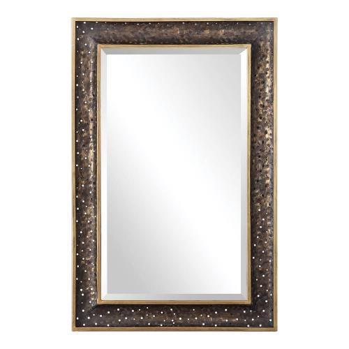 Mauro Mirror - Rustic Bronze