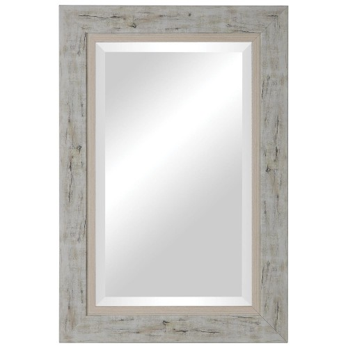 Branbury Wood Mirror - Rustic Light