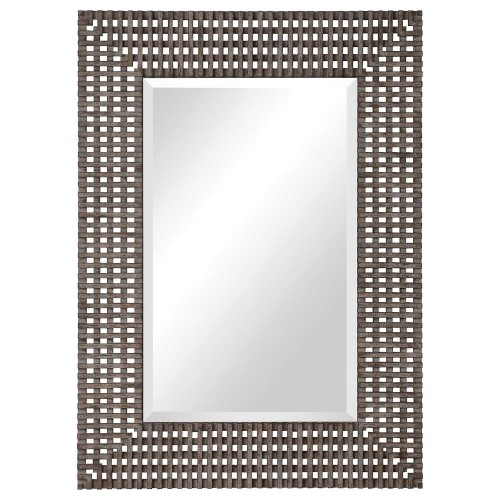 Tarquin Crosshatched Mirror