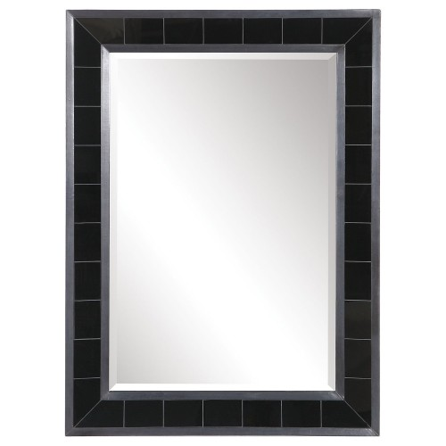 Lonara Tile Mirror - Black