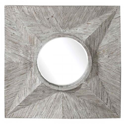 Huntington Square Mirror - Light Gray
