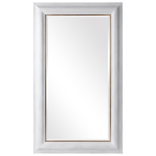 Piper Large Mirror - White