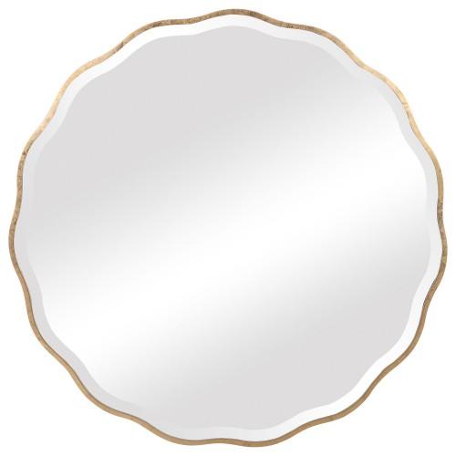 Aneta Round Mirror - Gold