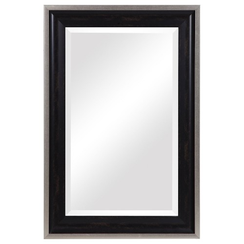 Groveland Mirror - Rustic Black