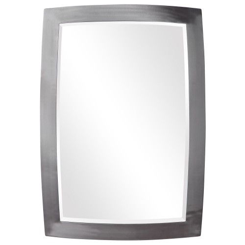 Haskill Mirror - Brushed Nickel