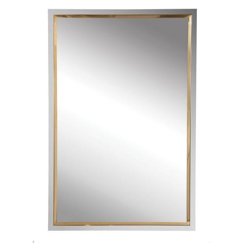 Locke Vanity Mirror - Chrome