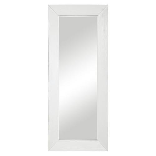 Tybee Leaner Mirror - White Oak