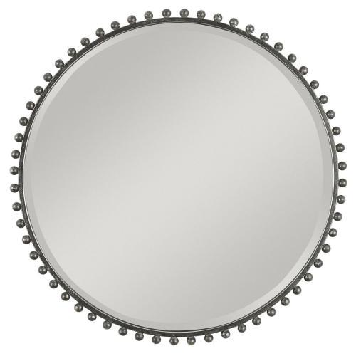 Taza Round Iron Mirror