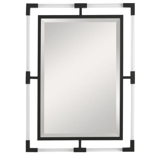 Balkan Iron Mirror - Black