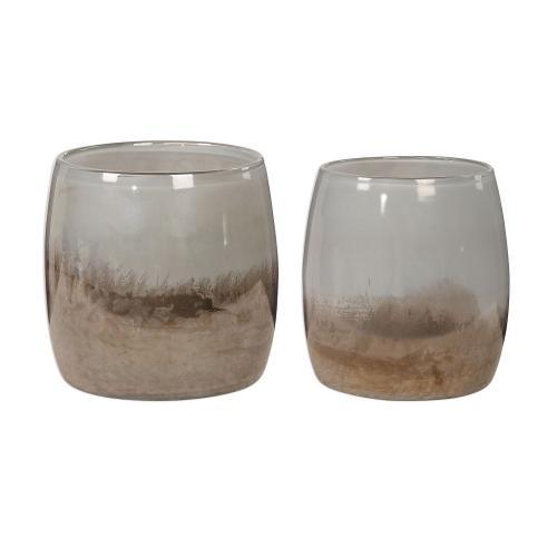 Tinley Blown Glass Bowls - Set of 2