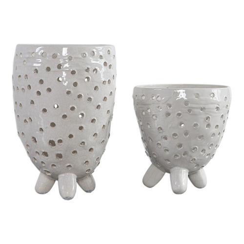 Milla Mid-Century Modern Vases - Set of 2