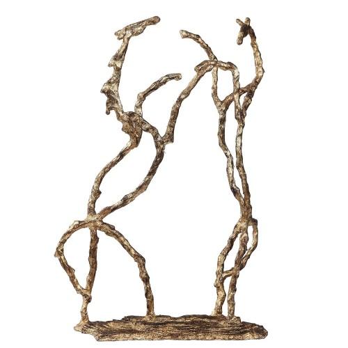 Equine Sculpture - Gold