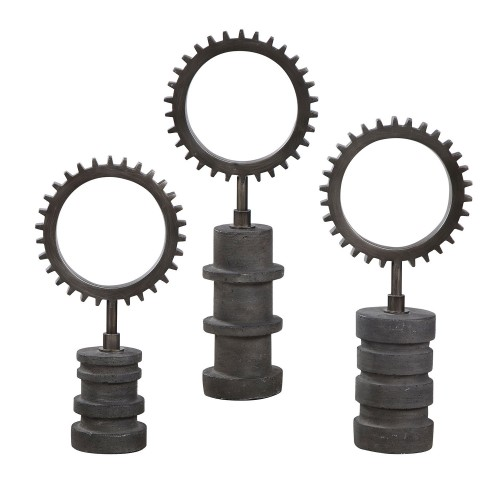 Garson Gear Figurines - Set of 3