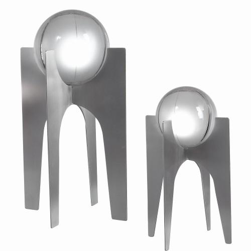 Ellianna Sculpture - Set of 2 - Silver