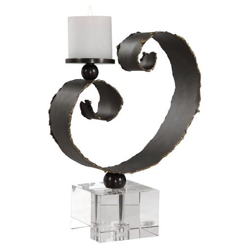 Yarina Candleholder - Dark Bronze