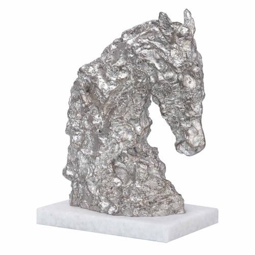 Foal Sculpture - Antique Silver