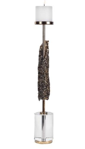 Anwen Candleholder - Antique Gold