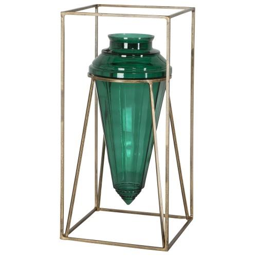 Ariga Vase - Emerald Green