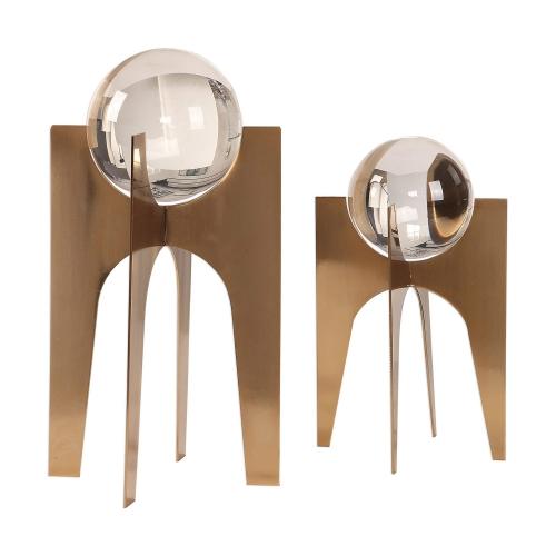 Ellianna Crystal Spheres - Set of 2