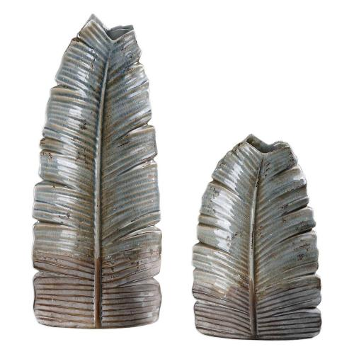 Invano Leaf Vases - Set of 2