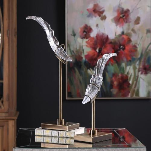 Wings Sculpture - Set of 2