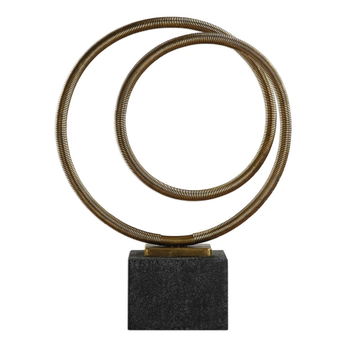 Oja Sculpture - Gold