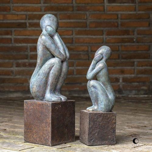 Jayin Figurine Sculptures - Set of 2
