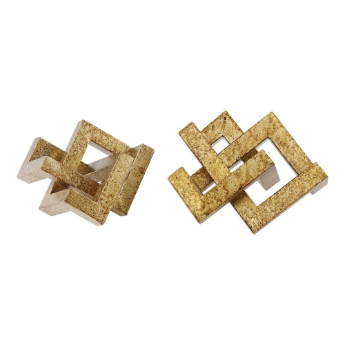 Ayan Accents - Gold - Set of 2