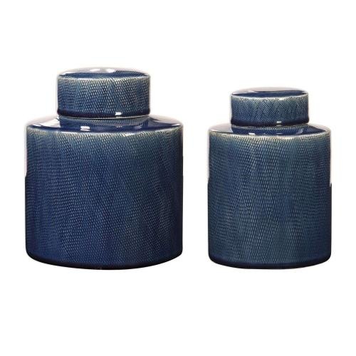 Saniya Containers - Set of 2 - Blue