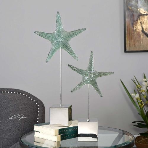 Starfish Sculpture - Set of 2