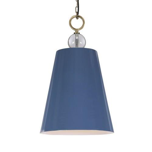 Delray 1 Light Pendant - Blue