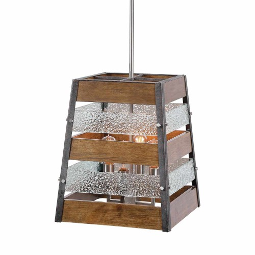 Glasshouse 4 Light Lantern Pendant