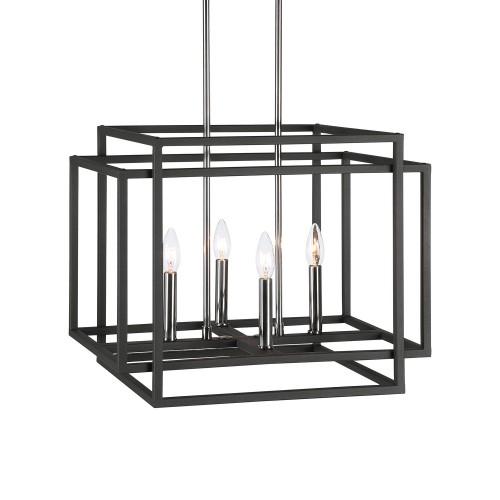 Quadrangle 4 Light Pendant