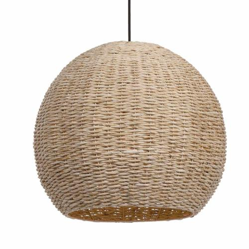 Seagrass 1 Light Dome Pendant
