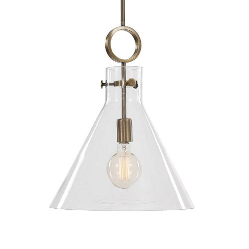 Imbuto Funnel Glass 1 Light Pendant