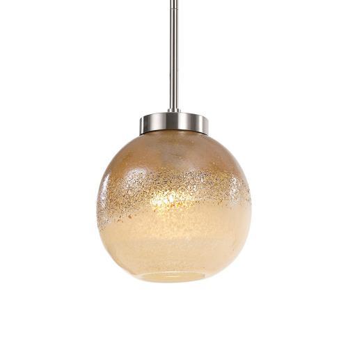 Melissa 1 Light Pendant - Golden Amber