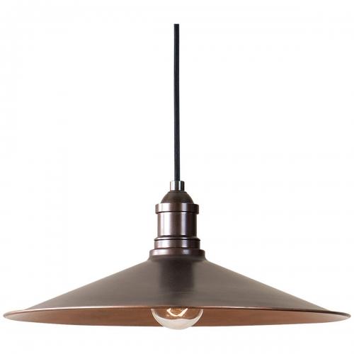 Barnstead 1 Light Copper Pendant Light