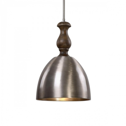 Luna 1 Light Aluminum Mini Pendant Light