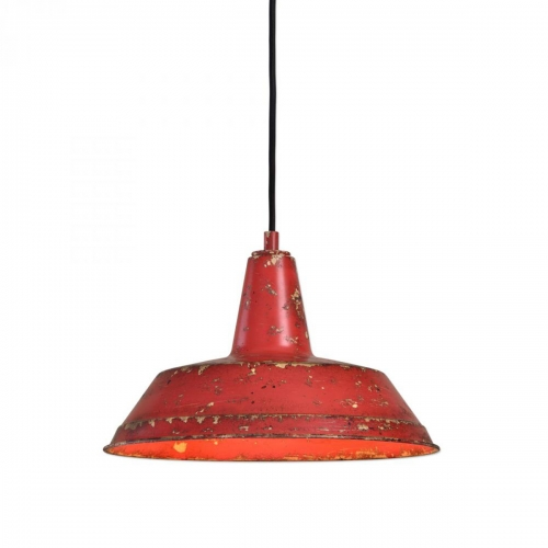 Pomodoro 1 Light Distressed Pendant Light