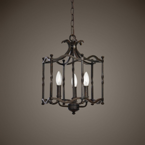 Candela 3 Light Old World Pendant