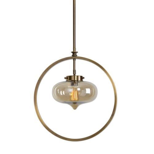 Namura 1 Light Mini Pendant - Brass